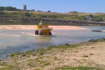 Work begins in preparation for reintroducing sluicing to Hayle